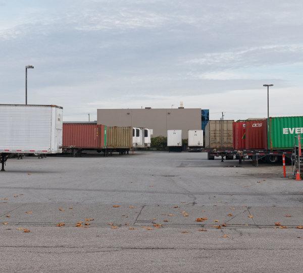 Trucks Stopped