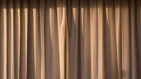 It's Curtains at Sunrise!