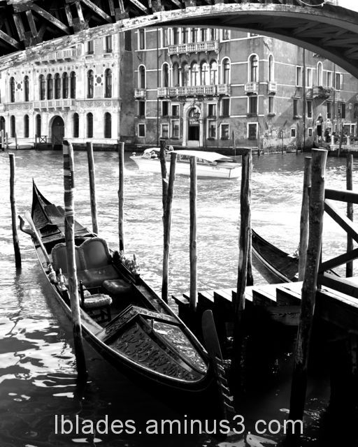 Gondola by the Canal