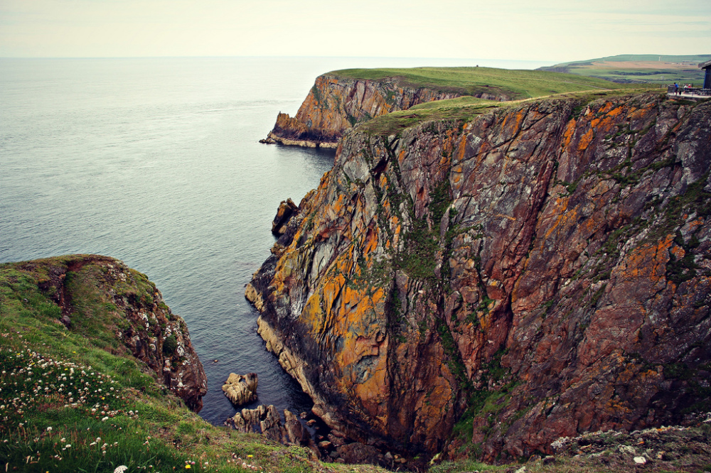 The Cliffs at the Top of the Stranraer Leg