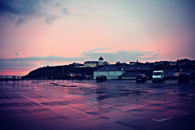 Portparick in the Evening, Scotland