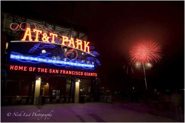 San Francisco Giants World Series AT&T Park