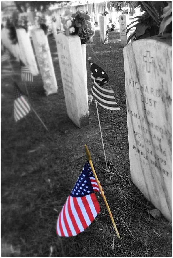 memorial day, american flag