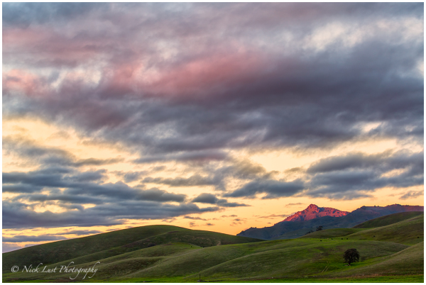 alpenglow, san benito county, california