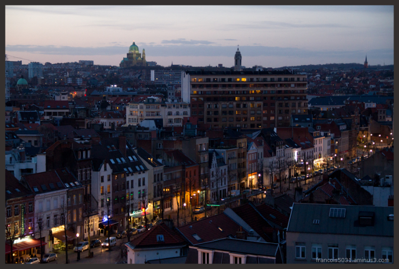 Brussels from Parking 58