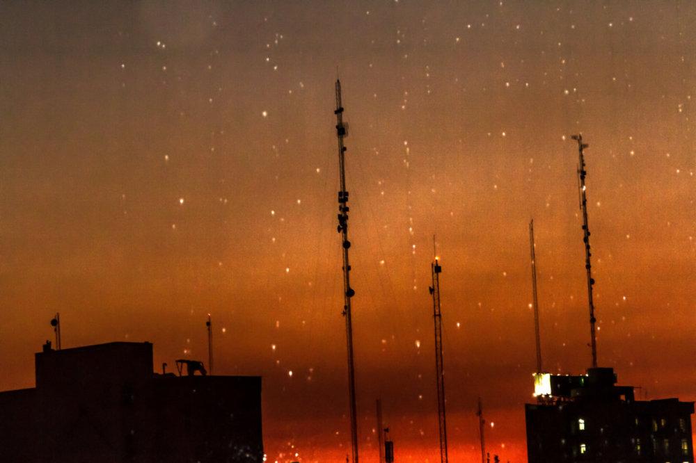 Rain & Sunset