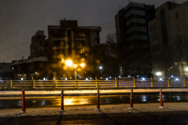 Snowy Night ,2