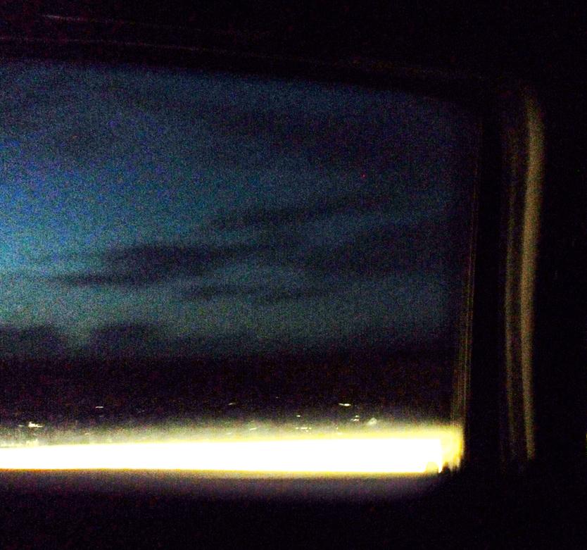 Rideau sur nuit blanche