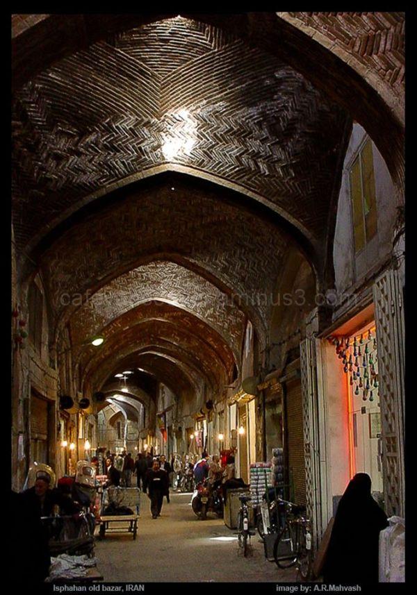 Old Bazar, Isphahan, IRAN