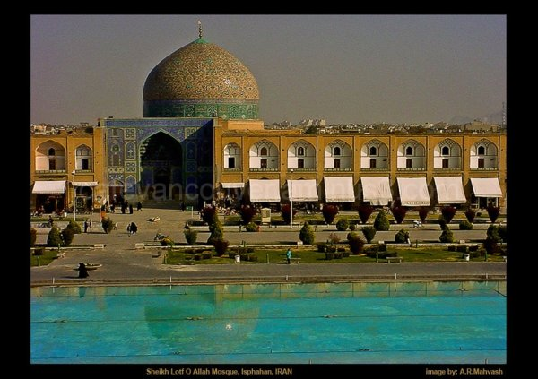 Sheikh lotfoal allah Mosque, Isphahan, IRAN