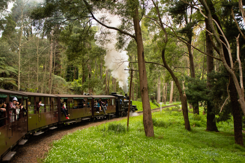 Puffing BILLY...
