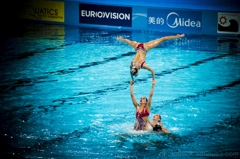 fina barcelona 2013 mundial swimming sincronizada