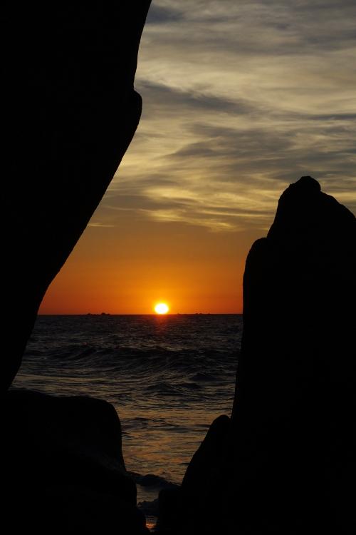 le Soleil a Rendez-Vous avec la Mer