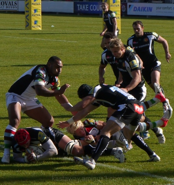 Exeter Chiefs 42 Harlequins 28
