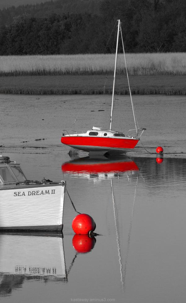 I dream in red