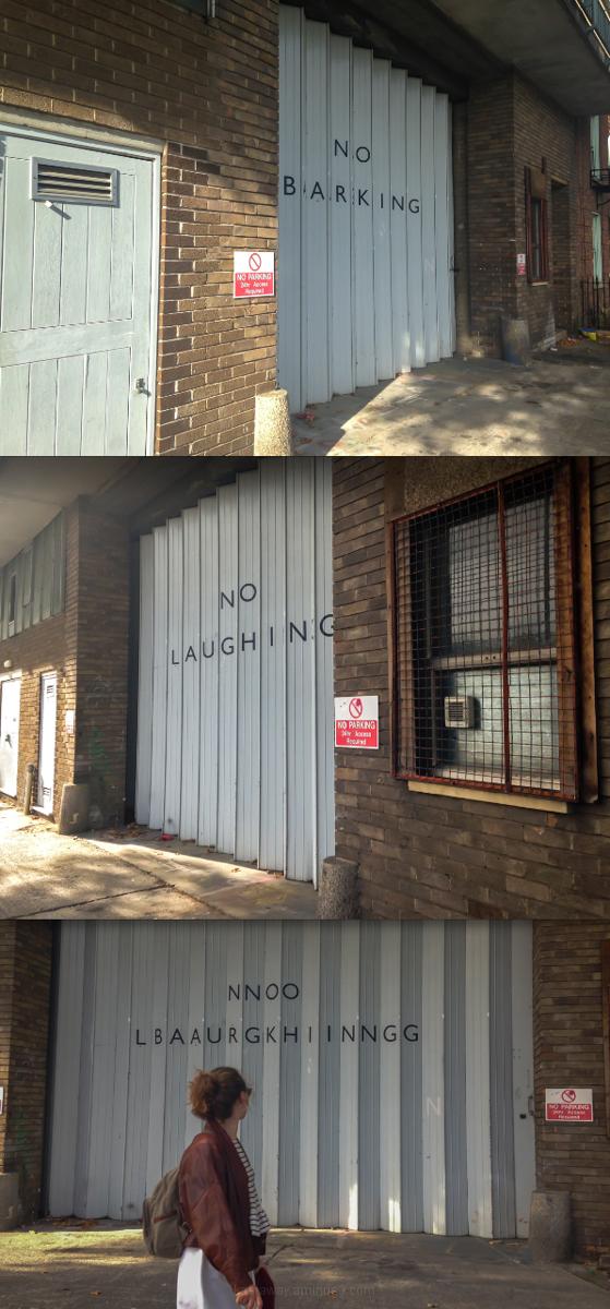 No Laughing