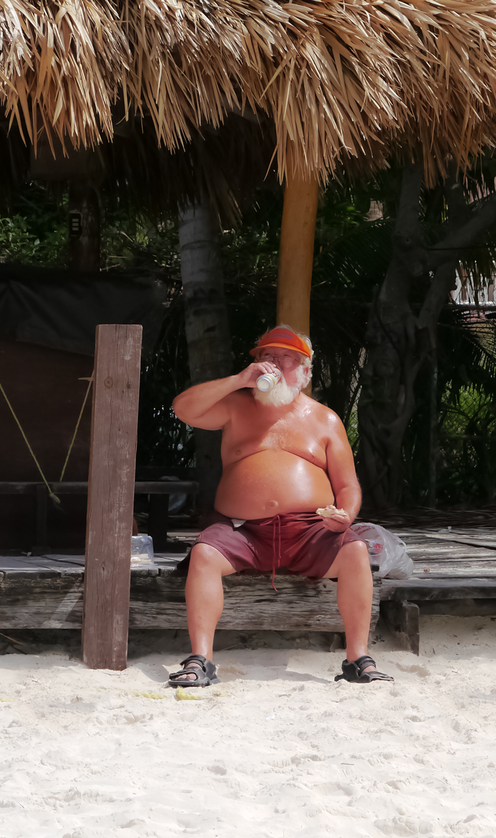 Santa on Spring Break