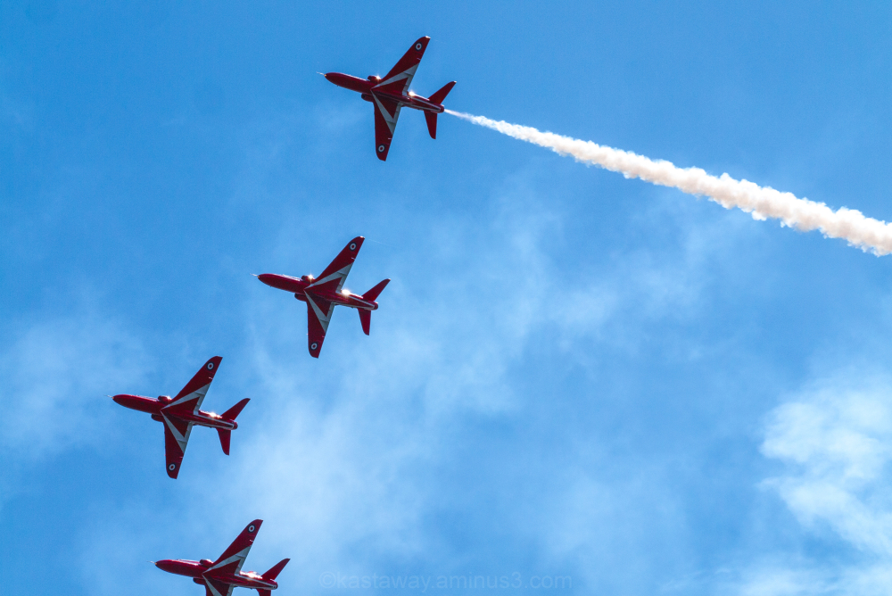 Red Arrows @ Dawlish Air Show