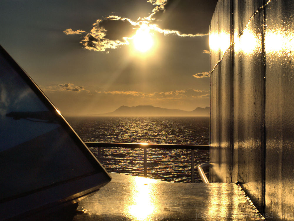 sunset mediterraneo