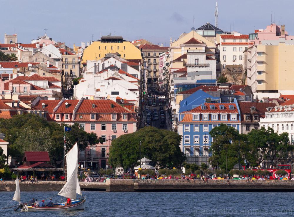 Lisbon's hill.