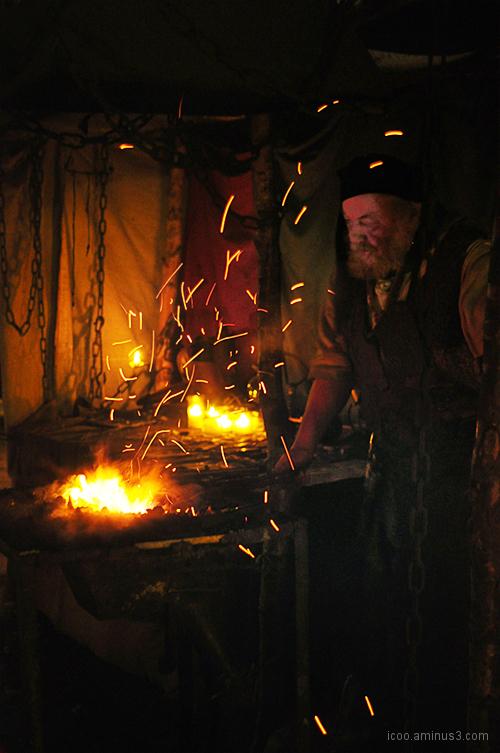Smith on medieval fair