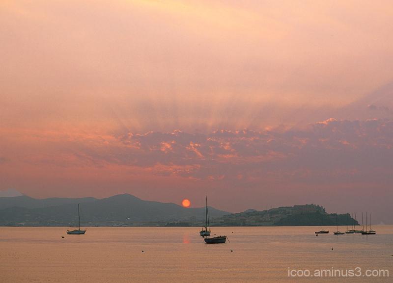 Sunset on Elba