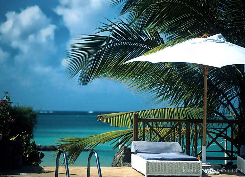 Sea, Hotel, Blue