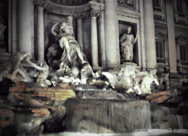Trevi well, Rome