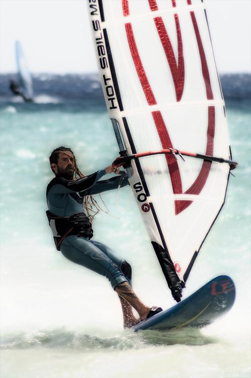surfer water closeup