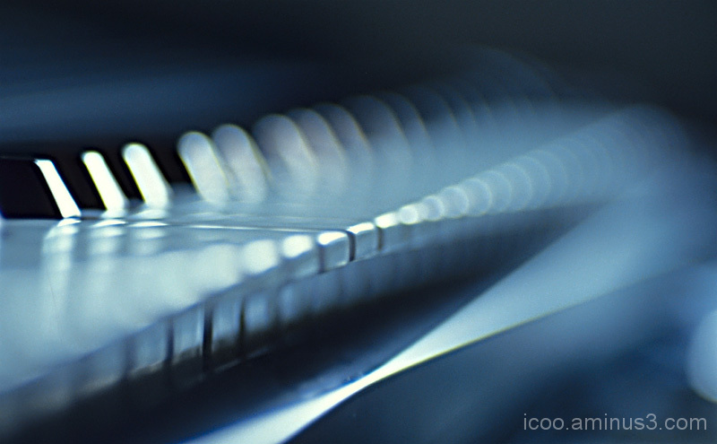 Keyboard Abstract Instrument
