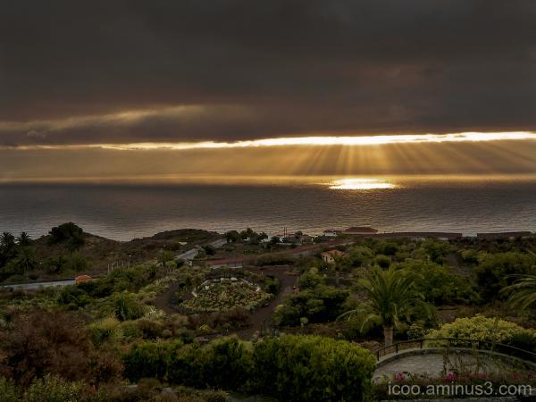 Sunset on la Palma
