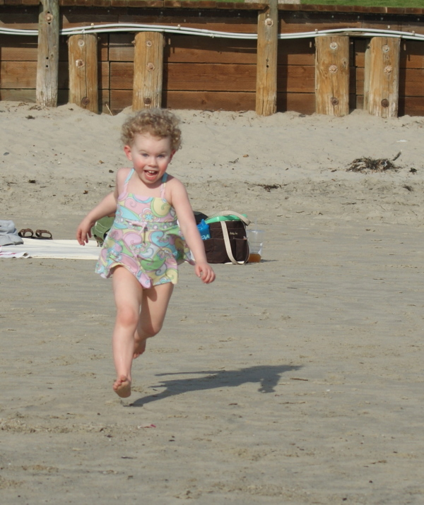 Rylie at the Beach