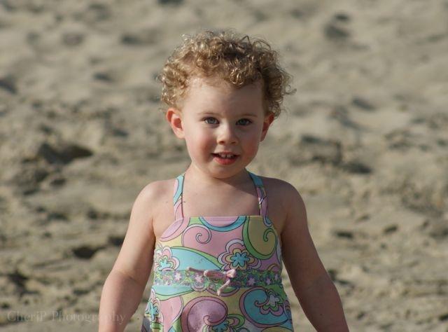 Happiest little girl