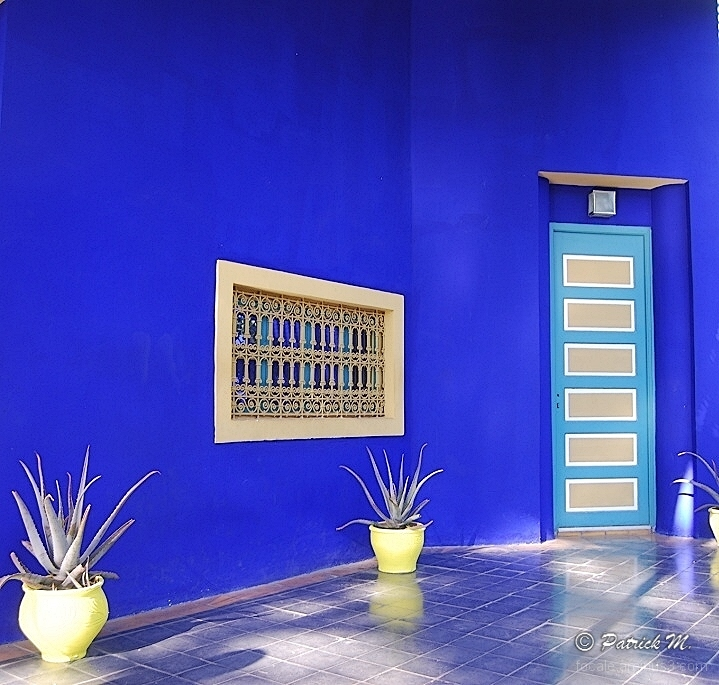 Maison d 39 yves saint laurent jardin majorelle architecture photos focale variable - Jardin majorelle yves saint laurent ...