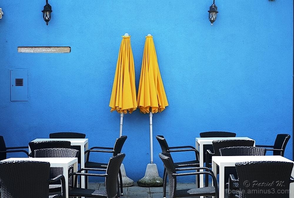 """Duos sur terrasse """"blu"""""""