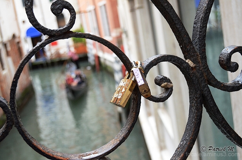 """""""love padlocks""""...de rouille et d'eau !!!"""