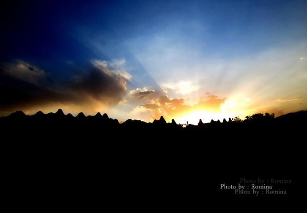 Sunset !