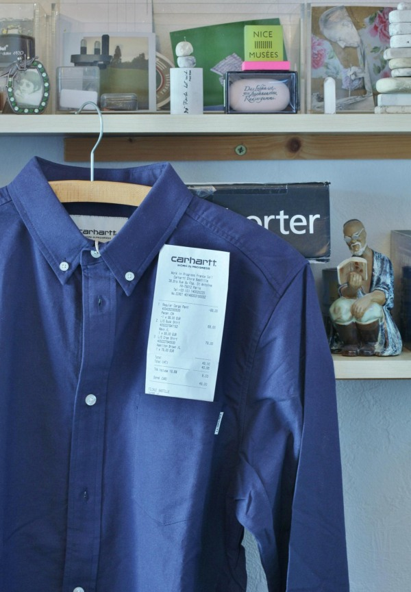 """A Blue Carhartt Shirt called """"Buck"""""""