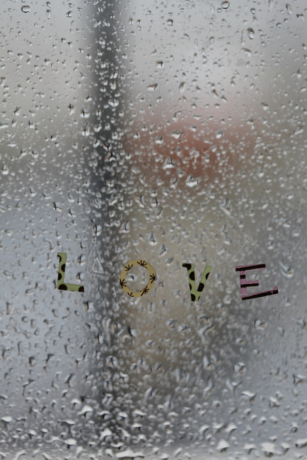The Letters of Love, a rainy day!