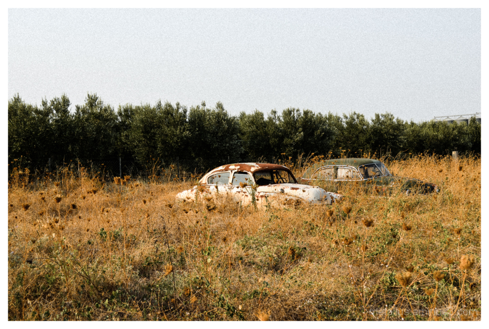Two abandonment cars