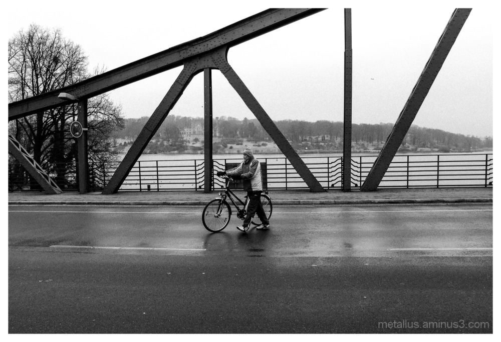 Potsdam bridge, Berlin, Germany