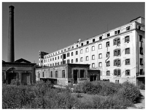 abandoned Alatini factory in Thessaloniki