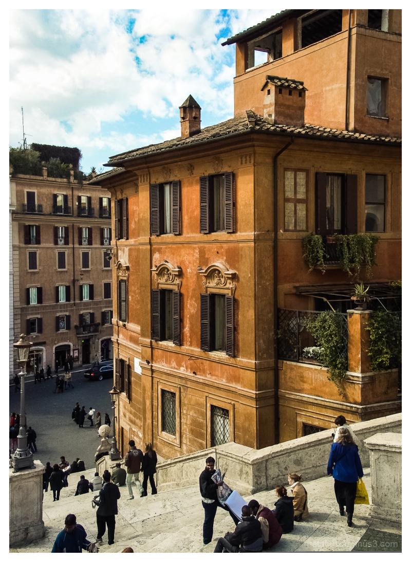 Piazza di Spagna, Rome, Italy 2008
