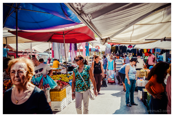 Public Market, Thessaloniki, Greece 2012