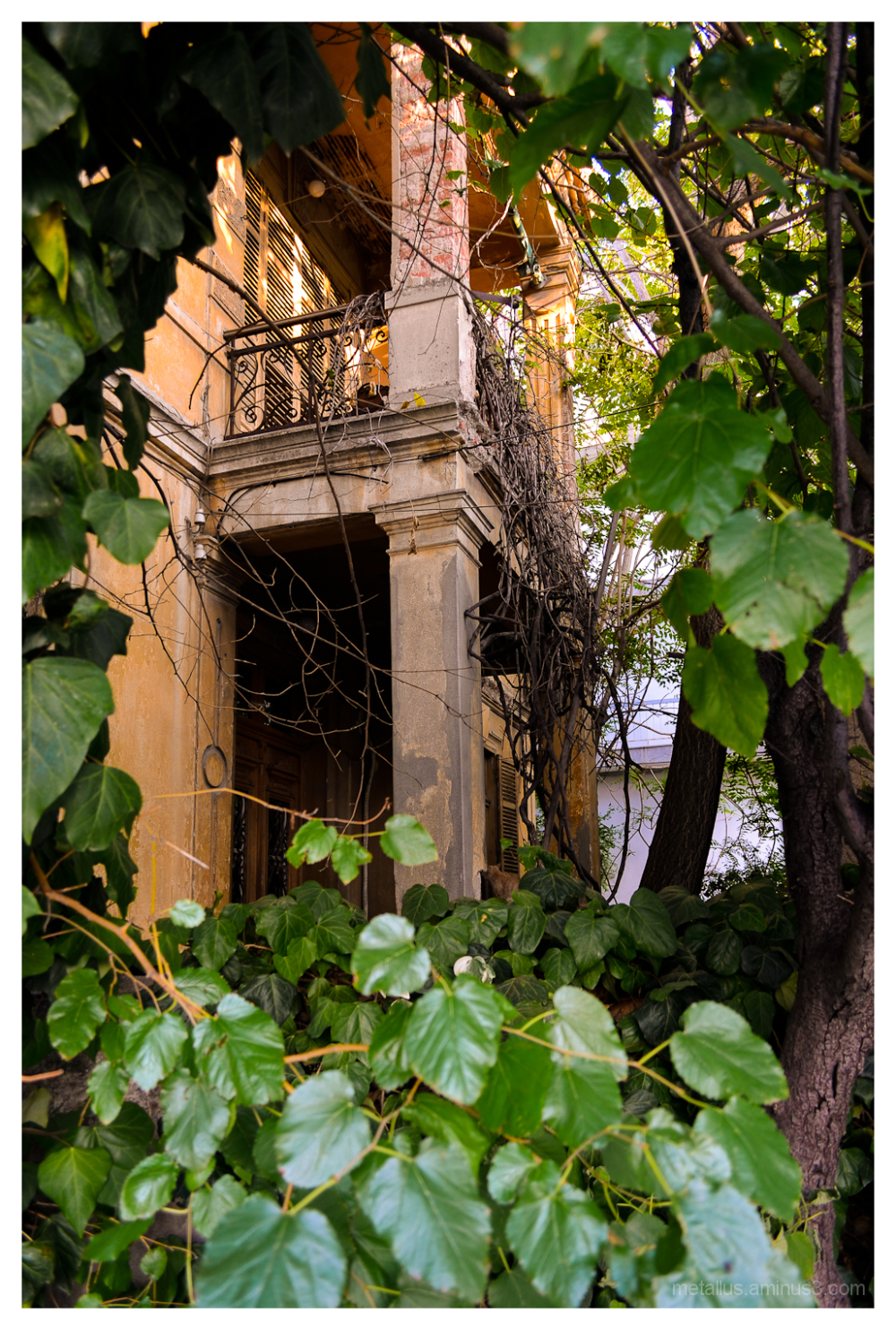 Abandoned house at Thessaloniki, Greece 2012