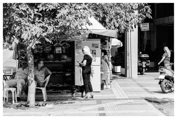 people chating Thessaloniki, Greece 2012