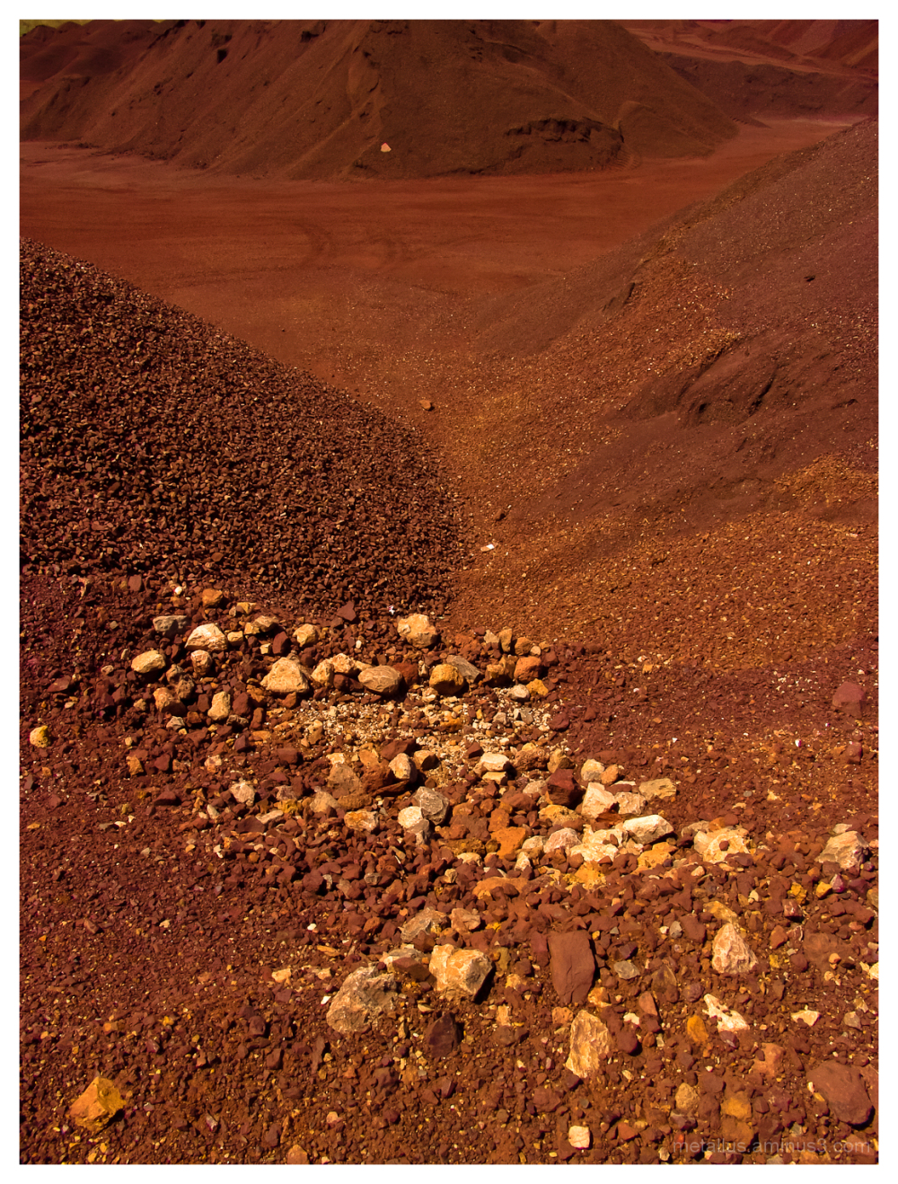 Bauxite quarry at Itea's gulf, Greece