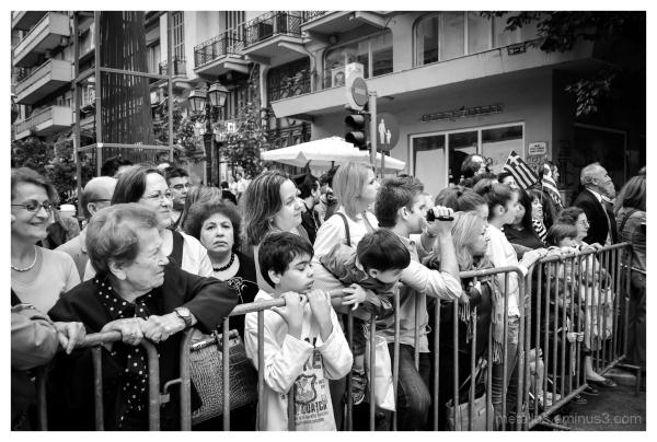 School parade, Thessaloniki, Greece 2012