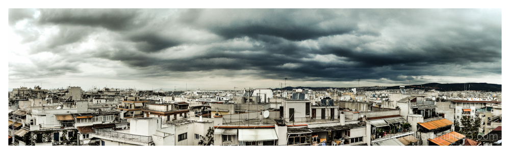 Before the storm, Thessaloniki, Greece