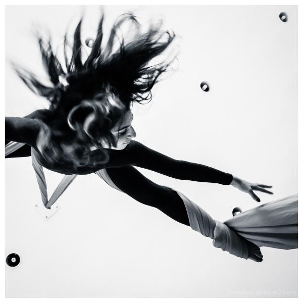 Aerial Dance at Thessaloniki, Greece